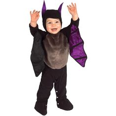 Lil Bat Infant Romper