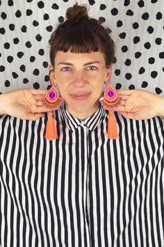 About the designer behind dAKOTA rAE dUST. meet Bec, passionate recycler, professional magpie and textile junkie. Textile Jewelry, Jewellery, Wedding Hats, Rave Wear, Recycled Fabric, Statement Jewelry, Textile Design, Swatch, Print Design