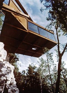 HARRY WEESE.... shadowcliff... view from below..  photograph by orlando cabanban... ellison bay, wisconsin, 1968-1969