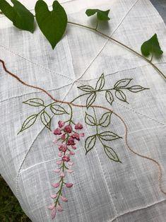 등꽃 모시발(모시조각보 판매중 상품) : 네이버 블로그 Embroidery Stitches, Hand Embroidery, Embroidery Designs, Needlework, Kids Room, Indian Embroidery, Colors, Embroidery Ideas, Art