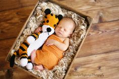 Sweet newborn picture of a baby named #Calvin