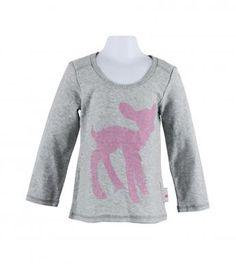 essentials slub knit deer top