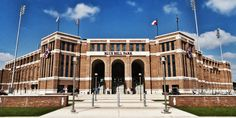 Olsen Field at Blue Bell Park. The new home of the Fightin' Texas Aggie Baseball Team.