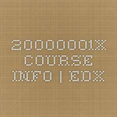 20000001x Course Info | edX