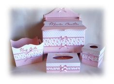 Decoupage, Baby Showers, Decorative Boxes, Country, Projects, Ideas, Baby Things, Personalized Gifts, Sheep Drawing