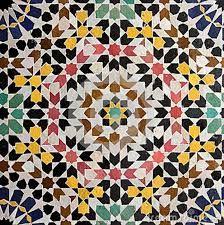 geometric moroccan tiles
