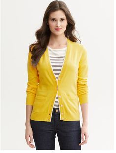 Yellow BR Sweater
