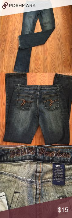 "Zco jeans Zco premium jeans, inseam 33"" mid rise, some minor wear on bottom cuff ZCO Jeans Boot Cut"