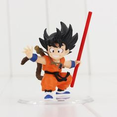 Sensible Dragon Ball Saiyan Small Cute Son Goku Action Figure Sun Wukong Doll Anime Toy Puppet Children Kids Toys Present Desk Decoration Action & Toy Figures