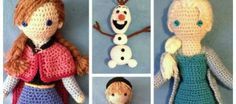 DIY Crochet Disney Frozen Free Patterns