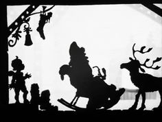 Christmas is Coming (1951) by Lotte Reiniger. Footage from the British Film Institute.