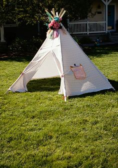How to Make a Tee Pee - Summer Sewing Series & How to make a Teepee (free pattern) DIY | Pdf Patterns and Books