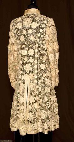 IRISH CROCHET COAT, 1905-1910 3000$