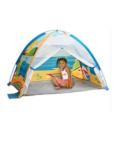 Another great find on #zulily! Seaside Beach Cabana Play Tent by Pacific Play Tents #zulilyfinds