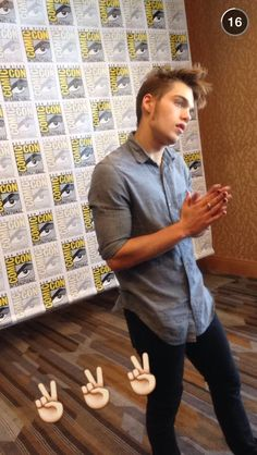 Dylan Sprayberry at Comic Con Teen Wolf Boys, Teen Wolf Cast, Angry Baby, Only Teen, Meninos Teen Wolf, Dylan Sprayberry, Ashley Benson, Dylan O'brien, Celebs