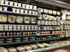 Whole Food´s salad fridge.