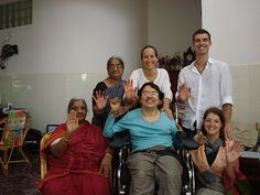 top row - Vijayalakshmi, Oda, Benoit  bottom row - Padmasani, Preethi, Stephanie  Reiki 1 - January 2008, Tiruvanamalai, Tamil Nadu, india  A very special course, done in Preethi's home in Ramananagar, accomodating her special needs. Her mother and g Clear your vitality system blockages with the 15 chakra aura therapeutic session and have more energy. - http://aurachakrahealing.com/