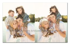 Family session outdoors - Kris Lane Photography