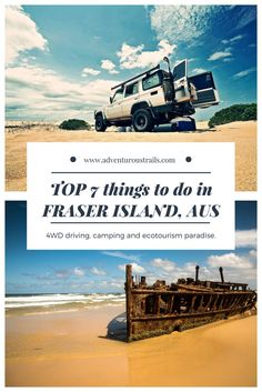 TOP 7 Things To Do In Fraser Island. 4WD Driving in Australia | Things To Do In Australia. What To Do In Queensland. Travel in Oceania.