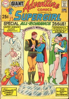 Adventure Comics #390, April 1970, cover by Curt Swan and Murphy Anderson