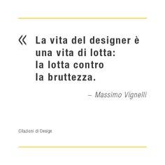 Citazioni di design: Massimo Vignelli