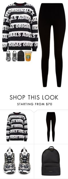 """""""5060"""" by tiffanyelinor ❤ liked on Polyvore featuring adidas Originals, Givenchy and adidas"""