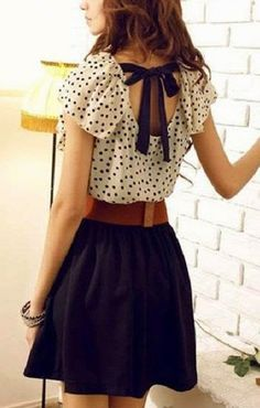 Polka Dots. A little Country. #chic #dots