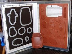 Thought I would share a storage idea with you today. If you buy your SU stamps in the cling form, then the case comes with them. Or you c...