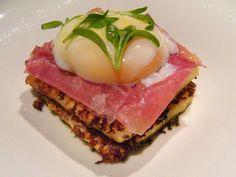 Savory Spanish Torrijas: Iberico Ham, Egg 63 by Chef Jose Andres