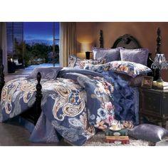 Luxury 4-piece cotton bedding set SETS043