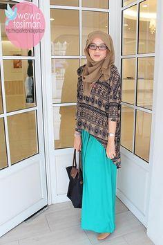 Tribal Tops (by Wawa  Tasliman) http://lookbook.nu/look/3382913-Tribal-Tops ❤ hijab style