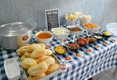 Bbq Party, Hot Dog Party, Fiesta Party, Hot Dogs, Brunch, Party Decoration, Catering, Food And Drink, Snacks