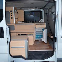 Opel Vivaro – Van Dream Madrid F35, General Motors, Land Rover Defender, Opel Vivaro Camper, Toyota Hiace Campervan, T5 Caravelle, Trailers, Build A Camper Van, T2 T3