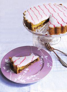 Bakewell Tart - get recipe here: http://www.dailymail.co.uk/femail/food/article-3815952/From-Bake-love-Bakewell-tart.html