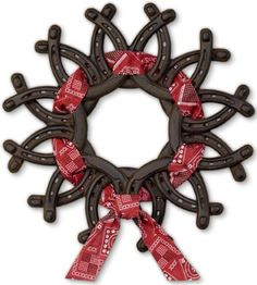 Horseshoe wreath