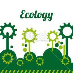 Ecology design Royalty Free Stock Vector Art Illustration