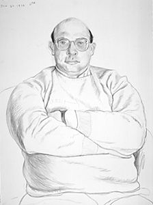 Hockney, Portrait of Ossie (repinned for Kate K., with fond ...