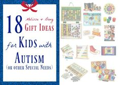 18 Melissa & Doug gift ideas for kids with autism or other special needs.