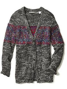 Twelfth Street By Cynthia Vincent Elbow Oversized Cardigan