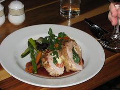 stuffed chicken great dish to have at a function