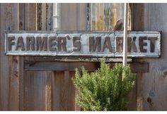 Huge Farmer's Market Sign