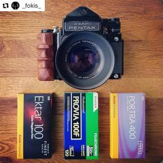 Thanks for photo from @_fokis_ __________________________ Custom Wooden Grip for PENTAX6x7/PENTAX67 Contact to craftsman : myoatmail@gmail.com #フィルム #フィルムカメラ #Pentax #Pentaxcamera #Pentax67 #Pentax6x7 #kameracraft #6x7 #film #filmcamera #analog...