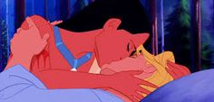 Disney Challenge #5 for Favorite Kiss goes to Pocahontas and John Smith!