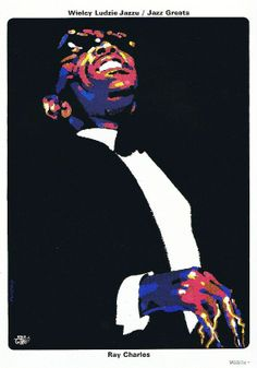 Buy online, view images and see past prices for Ray Charles by Waldemar Swierzy Fine Art Original Lithograph Limited Edition. Invaluable is the world's largest marketplace for art, antiques, and collectibles. Posters Uk, Cool Posters, Music Posters, Jazz Poster, Polish Posters, Jazz Art, Ray Charles, Art Original, Typography Art