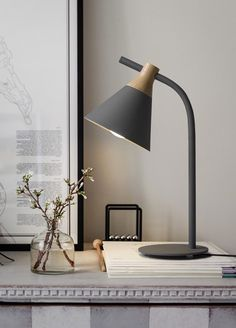 """Decorate in fabulous modern Nordic style and bring the most simplistic light to your beside table or desk with this stunning lamp! Made from iron & wood. Lamp measures 20.5"""" tall. Power Source: AC Voltage: 80 - 240V Free Worldwide Shipping & 100% Money-Back Guarantee"""