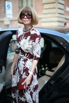 Anna Wintour, Milan Fashion Week