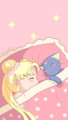 Cute Pastel Wallpaper, Anime Scenery Wallpaper, Cute Patterns Wallpaper, Cute Anime Wallpaper, Cute Wallpaper Backgrounds, Wallpaper Iphone Cute, Cute Cartoon Wallpapers, Animes Wallpapers, Sailor Moom