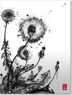 .dandelion explosion.