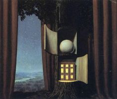 The voice of blood, 1948 by Rene Magritte, Mature Period. Surrealism. symbolic painting