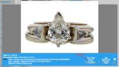GIA 2 CT Round Cut Solitaire Ring Sold at Auction for $8,787